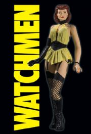 Watchmen Movie Action Figures Classic Silk Spectre Series 2 MIB